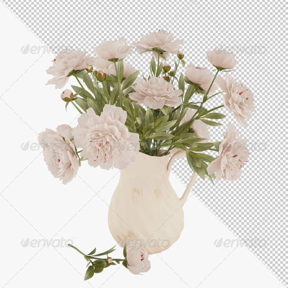Flowers - Objects 3D Renders