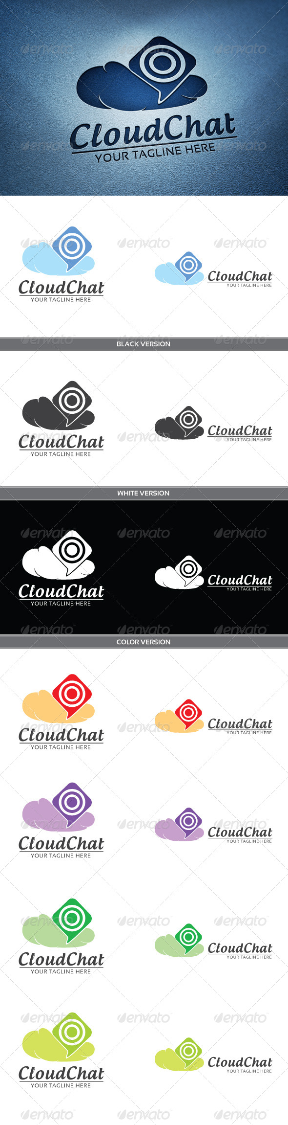 GraphicRiver Cloud chat 4085732