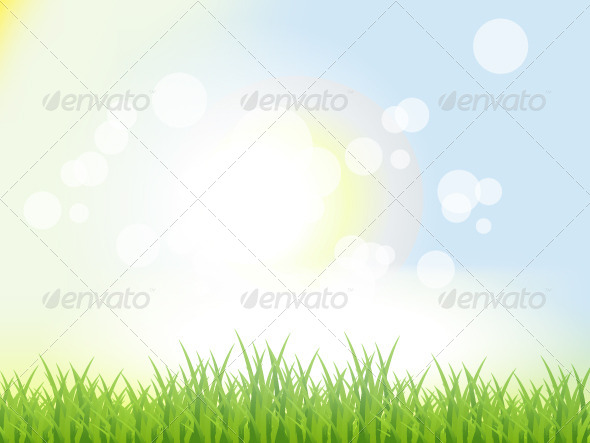 GraphicRiver Abstract Summer Background 4086018
