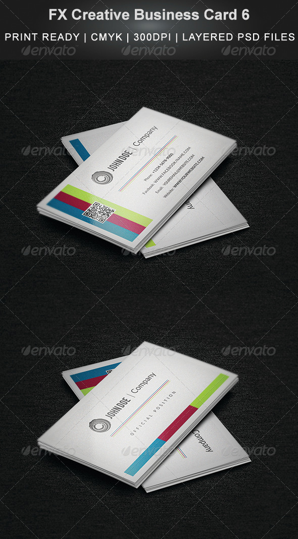 GraphicRiver FX Creative Business Card 6 4086030