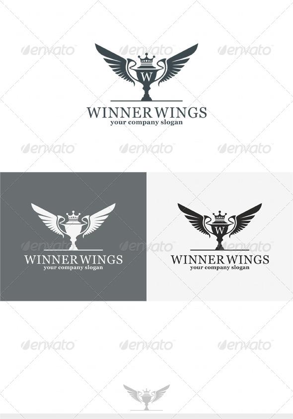 GraphicRiver Winner Wings Logo 4086050