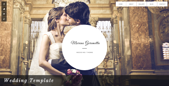 Moreno - Wedding Template
