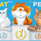Cat Champions on Podium  - GraphicRiver Item for Sale