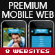 Premium Mobile Web Template - ThemeForest Item for Sale
