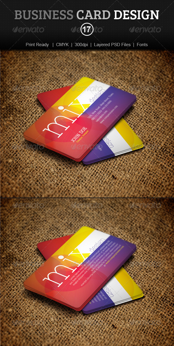 GraphicRiver Business Card Design 17 4086253