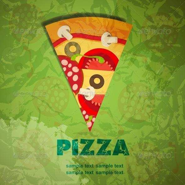 GraphicRiver Pizza Menu Template 4086278