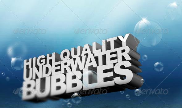 HQ Underwater Bubbles