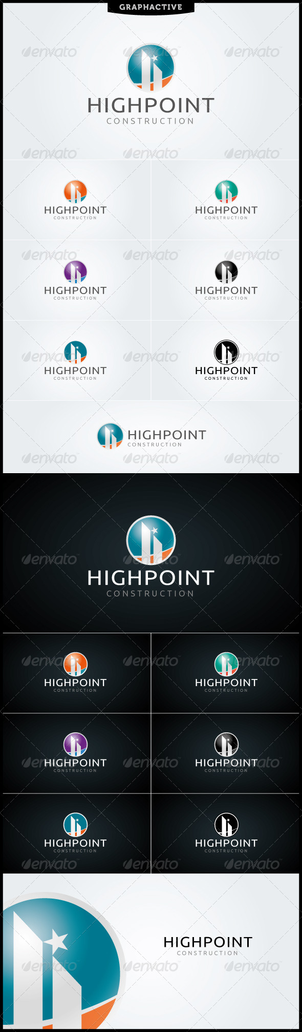 GraphicRiver HighPoint Logo Template 4013270
