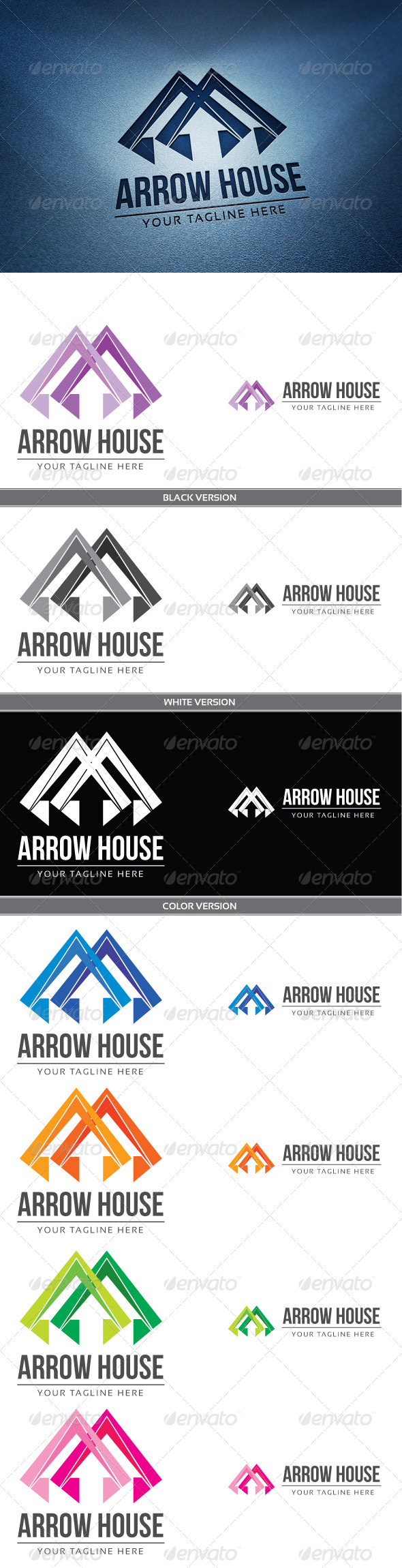 GraphicRiver Arrow house 4086467