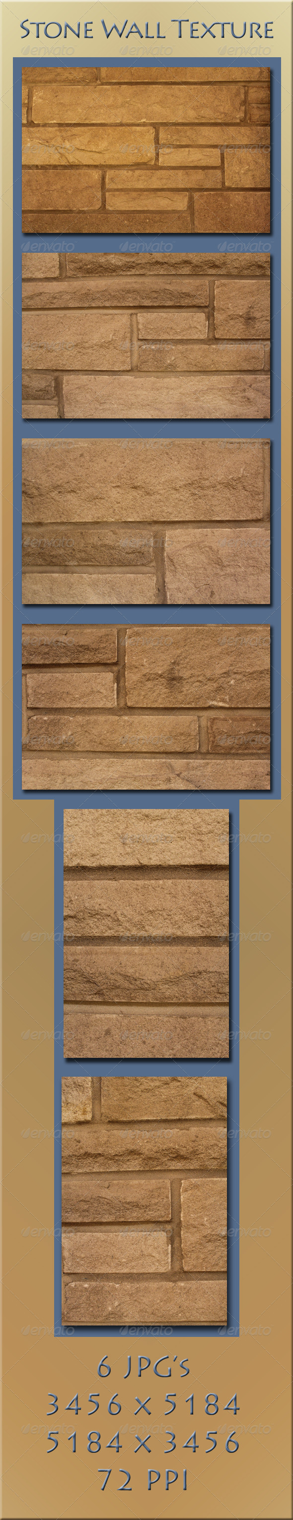 GraphicRiver Stone Wall 4086584