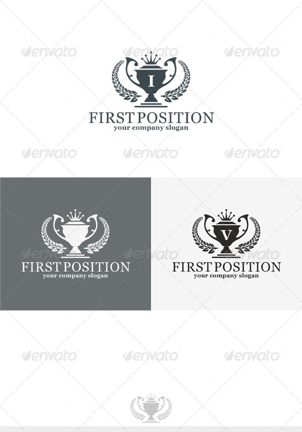 GraphicRiver First Position Logo 4086598