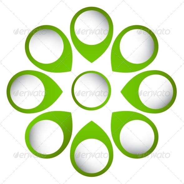 GraphicRiver Concept of Circular Banners with Arrows 4086614