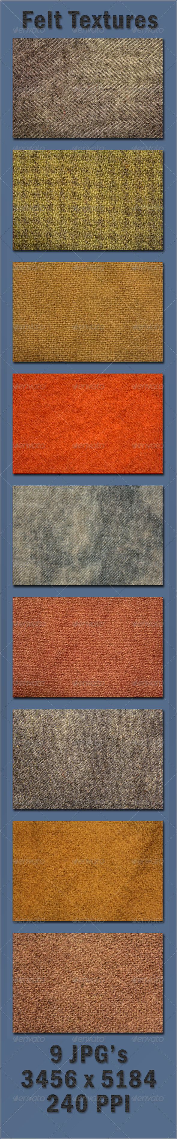 GraphicRiver Felt Wool Textures 4086857