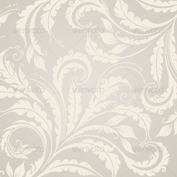 GraphicRiver Decorative Floral Background 4086884