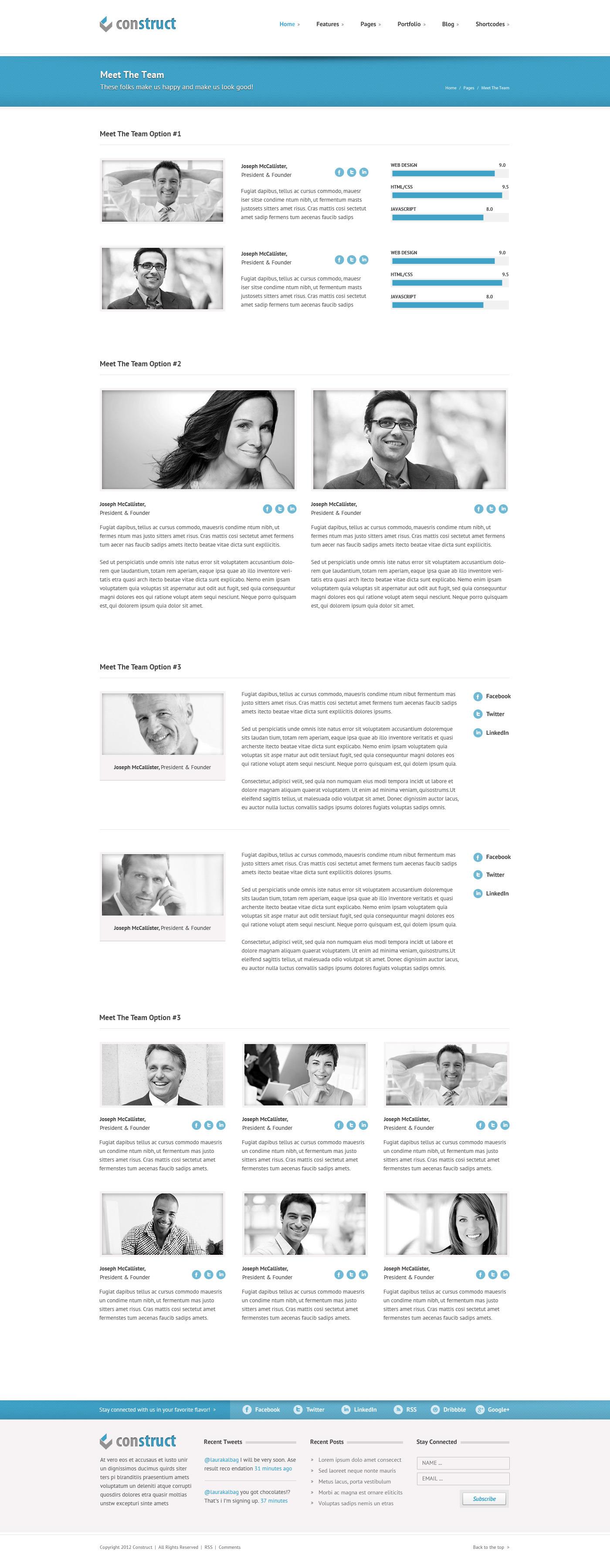 Construct | Multi-Purpose Wordpress Theme