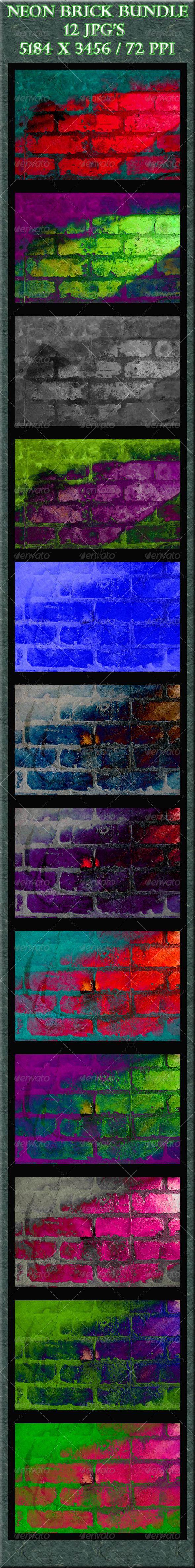 GraphicRiver Neon Bricks 4087320