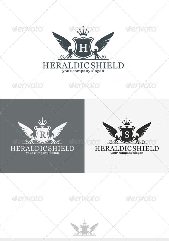 GraphicRiver Heraldic Shield Logo 4087332