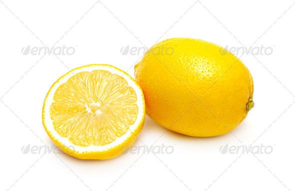 PhotoDune Two lemons isolated 4088372