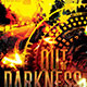 Out of Darkness CD Cover Artowork Template - GraphicRiver Item for Sale
