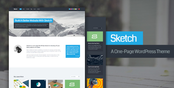 Sketch WordPress Theme