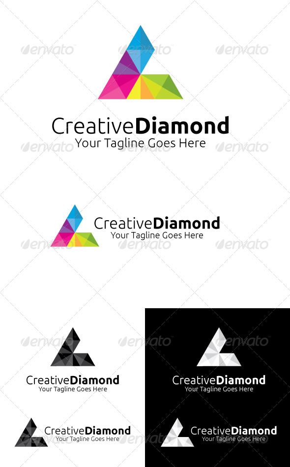 GraphicRiver Creative Diamond 4089708
