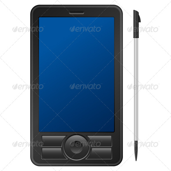 GraphicRiver Pda Personal Digital Assistant 4090140