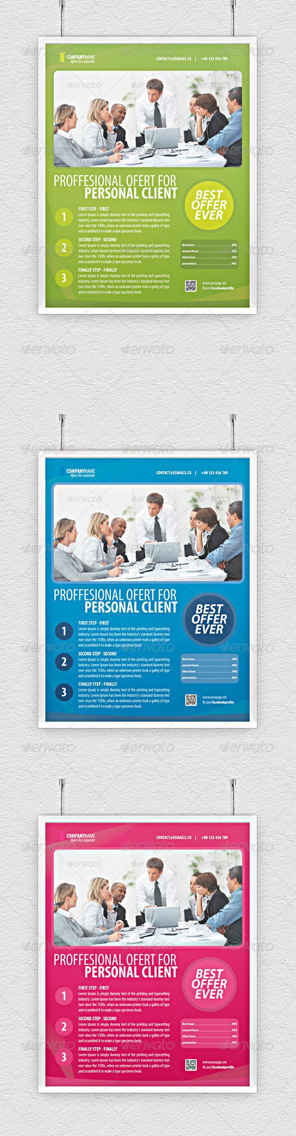 GraphicRiver SEO Corporate Marketing Flyer 3969269