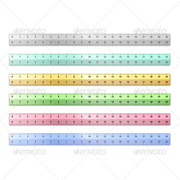 GraphicRiver Vector Rulers 4091633