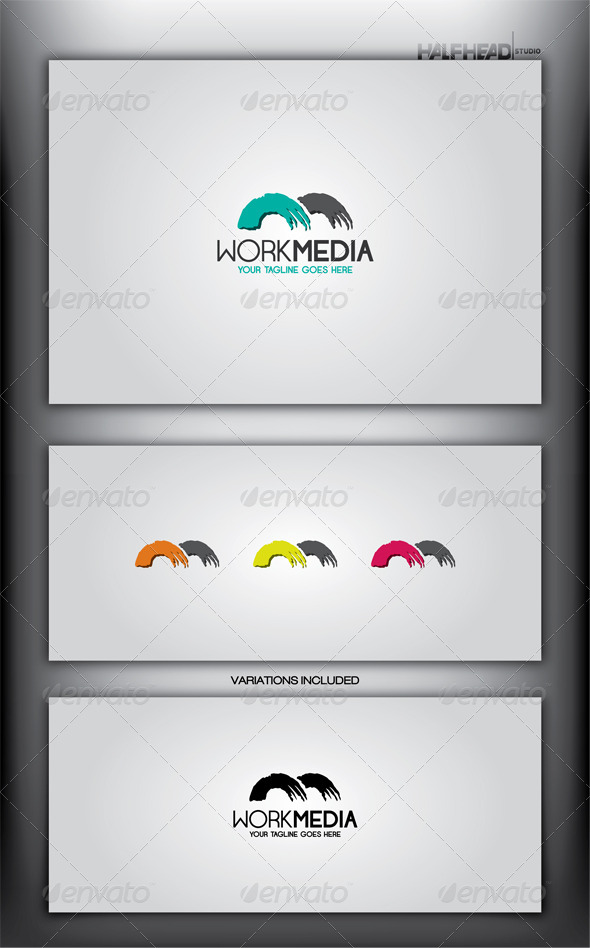 GraphicRiver Work Media Logo Template 4091893