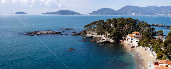 PhotoDune landscape of golfo dei poeti 4100819