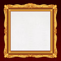 Antique Gold Frame with Blank Canvas. - PhotoDune Item for Sale