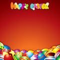 Colorful Easter Background with Space for Text - PhotoDune Item for Sale
