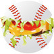 baseball hamburger - PhotoDune Item for Sale