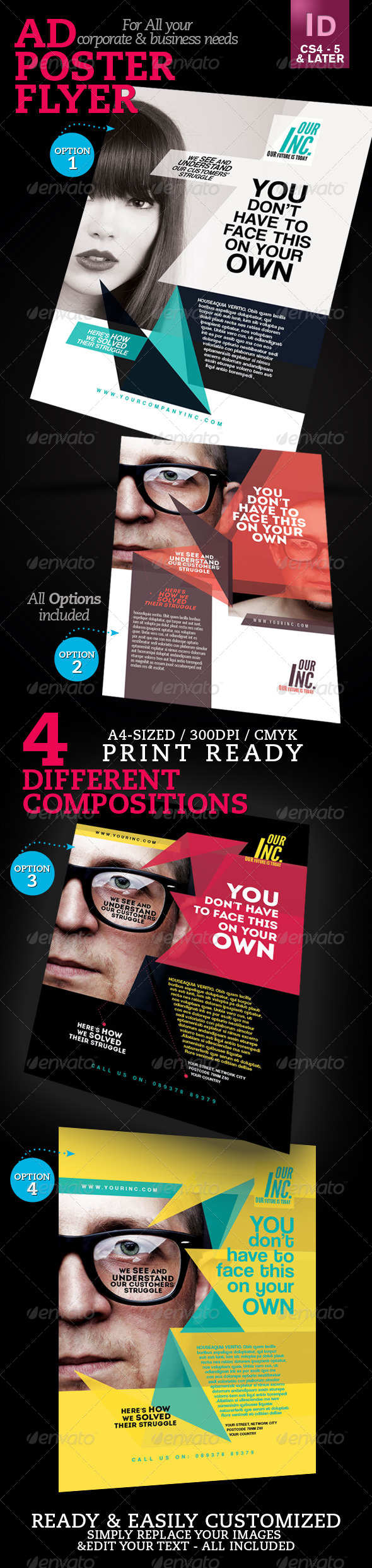 GraphicRiver Corporate Ad Flyer Poster V1 4094869