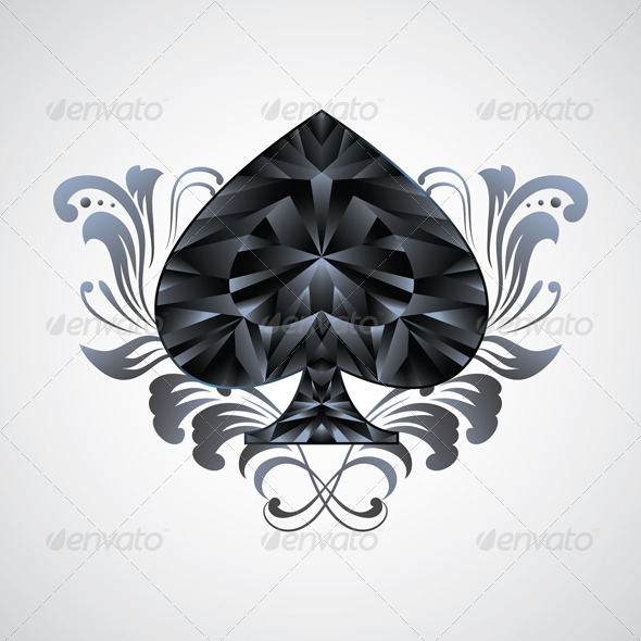 GraphicRiver Ornament Spades 4094965