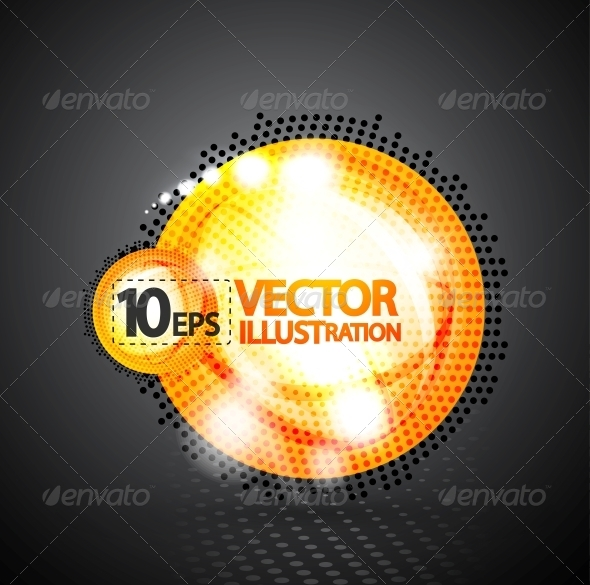 GraphicRiver Bubble abstract shiny background 4095085