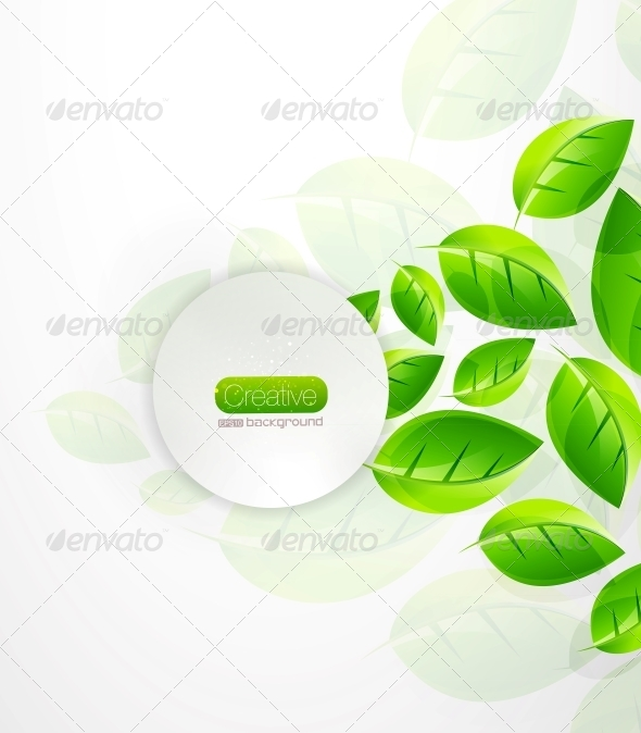 GraphicRiver Green Nature Background 4095517
