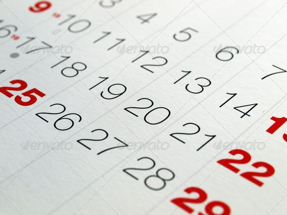 PhotoDune Calendar 4095759