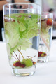 Many berry, grape and water in the glass for decorated - PhotoDune Item for Sale