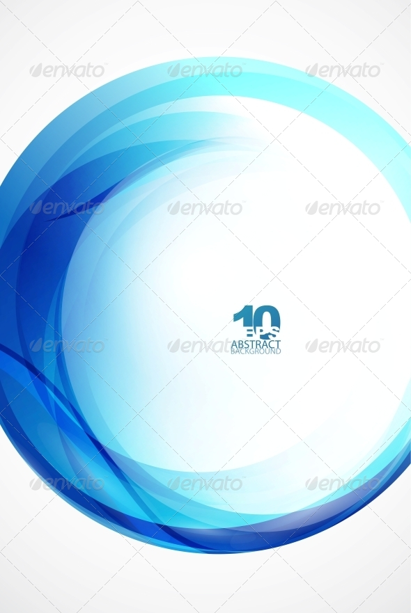 GraphicRiver Blue Wave Sphere 4096012