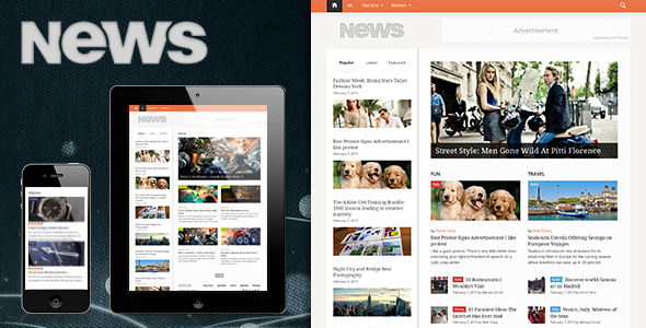 ThemeForest Newses 4096178