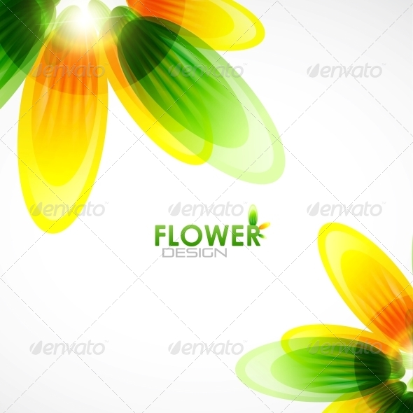 GraphicRiver Abstract Flower Background 4096276