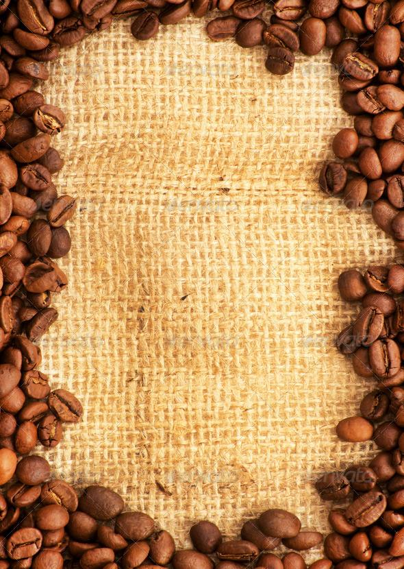 PhotoDune Coffee Border 4096467