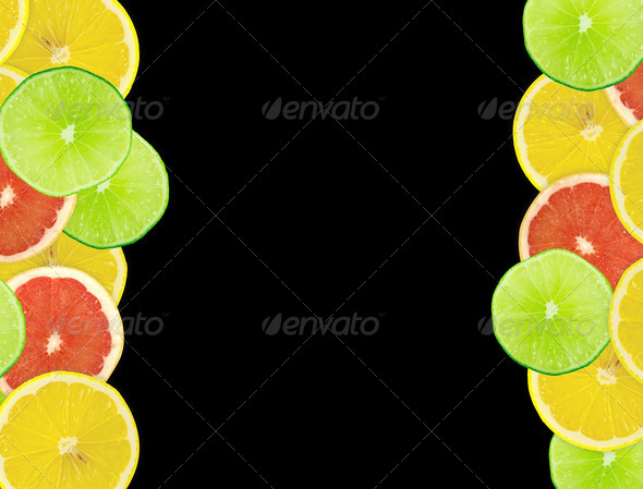 PhotoDune Abstract background of citrus slices Closeup Studio photograph 4096477