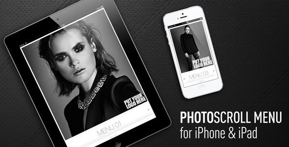CodeCanyon PhotoScrollMenu for iPhone & iPad 4079470