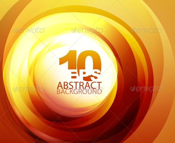 GraphicRiver Orange Abstract Background 4096310