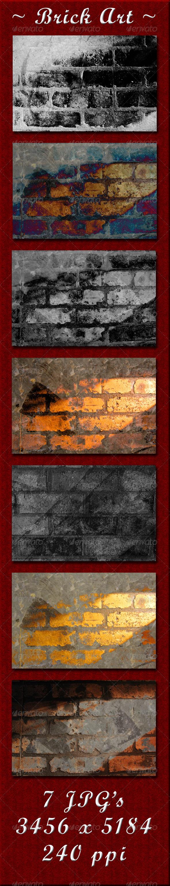 GraphicRiver Brick Wall 4096344