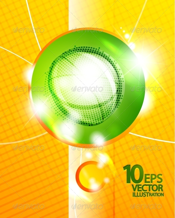 GraphicRiver Hi-Tech Shiny Techno Bubble Background 4096510