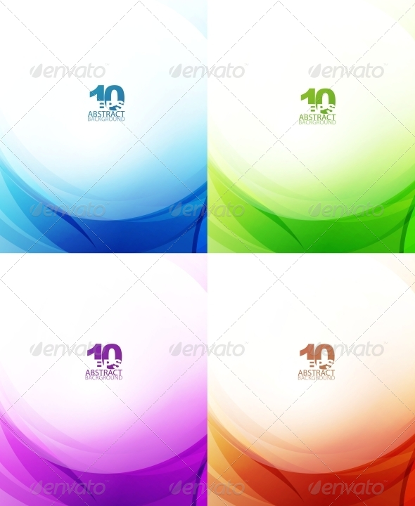 GraphicRiver Abstract Waves 4096824