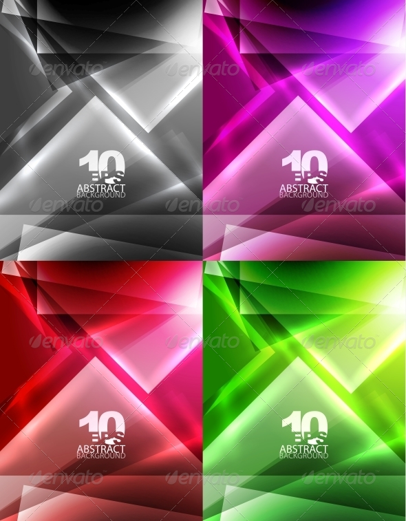 GraphicRiver Vector Abstract Geometric Backgrounds 4097161